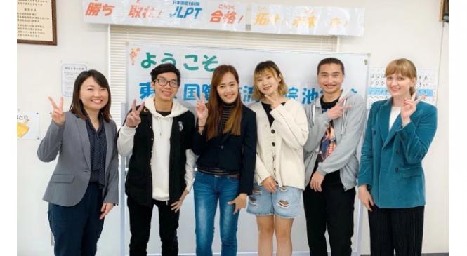 東京國際交流學院池袋校 學生訪談